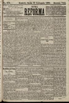 Nowa Reforma. 1889, nr273