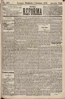 Nowa Reforma. 1889, nr277