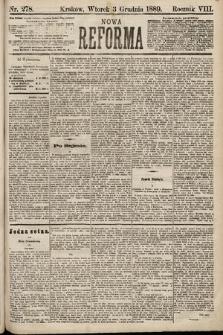 Nowa Reforma. 1889, nr278