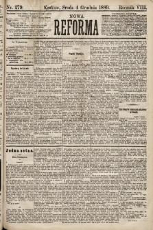 Nowa Reforma. 1889, nr279