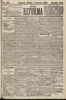 Nowa Reforma. 1889, nr282