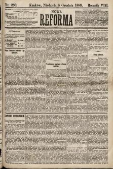 Nowa Reforma. 1889, nr283