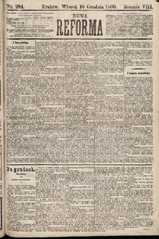 Nowa Reforma. 1889, nr284