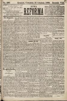 Nowa Reforma. 1889, nr286