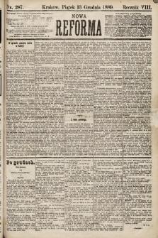 Nowa Reforma. 1889, nr287