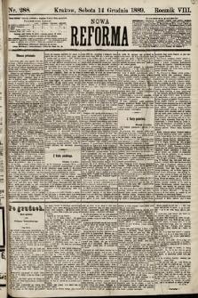 Nowa Reforma. 1889, nr288