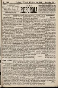 Nowa Reforma. 1889, nr290