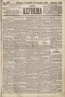 Nowa Reforma. 1889, nr292