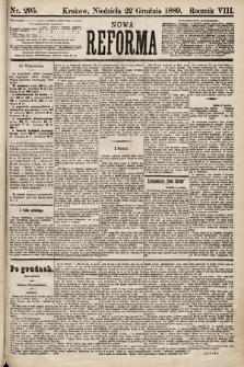 Nowa Reforma. 1889, nr295