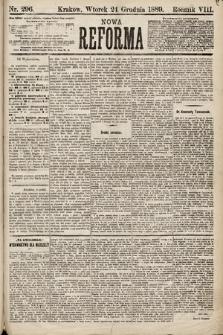 Nowa Reforma. 1889, nr296
