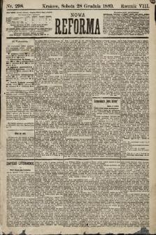 Nowa Reforma. 1889, nr298