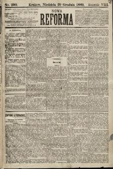 Nowa Reforma. 1889, nr299