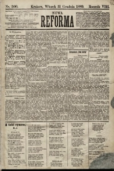 Nowa Reforma. 1889, nr300