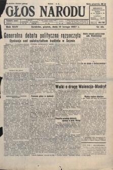 Głos Narodu. 1937, nr43