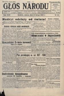 Głos Narodu. 1937, nr44