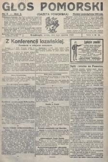 Głos Pomorski. 1923, nr4