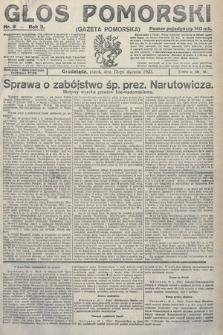 Głos Pomorski. 1923, nr8