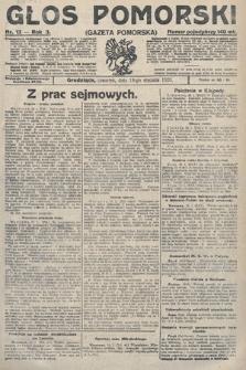 Głos Pomorski. 1923, nr13