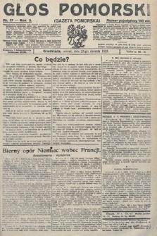 Głos Pomorski. 1923, nr17