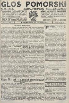 Głos Pomorski. 1923, nr31