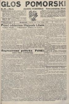Głos Pomorski. 1923, nr36