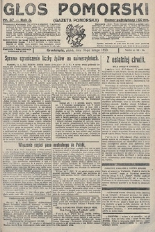 Głos Pomorski. 1923, nr37