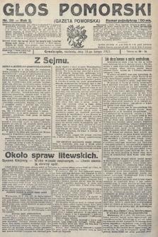 Głos Pomorski. 1923, nr39