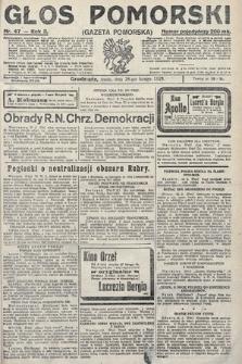 Głos Pomorski. 1923, nr47