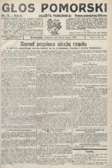 Głos Pomorski. 1923, nr72