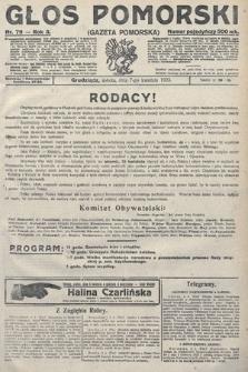 Głos Pomorski. 1923, nr79