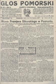 Głos Pomorski. 1923, nr84