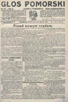 Głos Pomorski. 1923, nr87