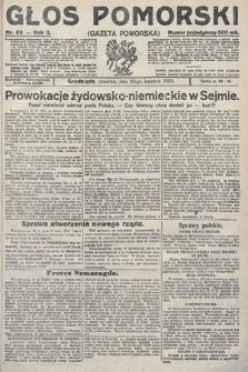 Głos Pomorski. 1923, nr89