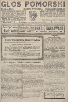 Głos Pomorski. 1923, nr132
