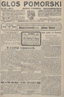 Głos Pomorski. 1923, nr134
