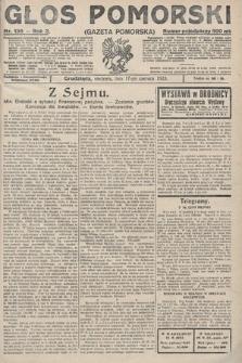 Głos Pomorski. 1923, nr136