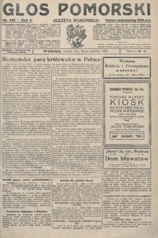 Głos Pomorski. 1923, nr143