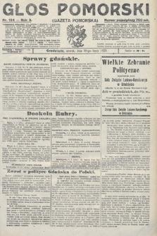 Głos Pomorski. 1923, nr154