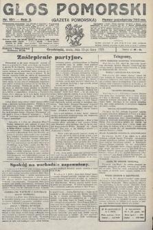 Głos Pomorski. 1923, nr155