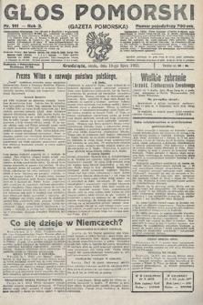 Głos Pomorski. 1923, nr161