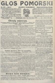 Głos Pomorski. 1923, nr167