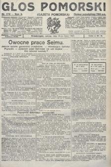 Głos Pomorski. 1923, nr170