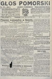 Głos Pomorski. 1923, nr172