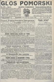 Głos Pomorski. 1923, nr179