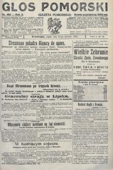 Głos Pomorski. 1923, nr186