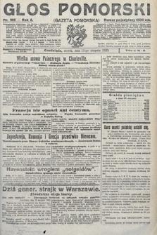 Głos Pomorski. 1923, nr189