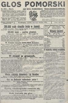 Głos Pomorski. 1923, nr203