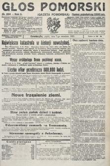 Głos Pomorski. 1923, nr204