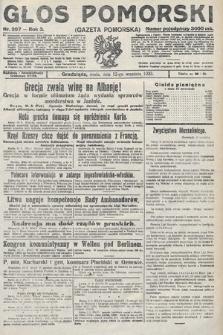 Głos Pomorski. 1923, nr207