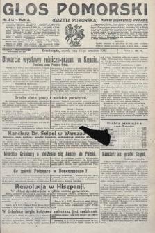 Głos Pomorski. 1923, nr212